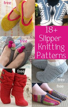 Slipper Knitting Patterns Slipper Knitting Patterns, many free patterns for slippers, slipper socks, slipper boots by Jinti STEP-BY-STEP INSTRUCTI. Loom Knitting, Knitting Socks, Knitting Patterns Free, Knit Patterns, Free Knitting, Knit Socks, Knit Slippers Free Pattern, Knitted Slippers, Slipper Socks