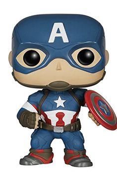 Funko - Pdf00004768 - Pop - The Avengers 2 - Captain America FunKo http://www.amazon.fr/dp/B00SUSU8BA/ref=cm_sw_r_pi_dp_0K6owb0SAAYJF