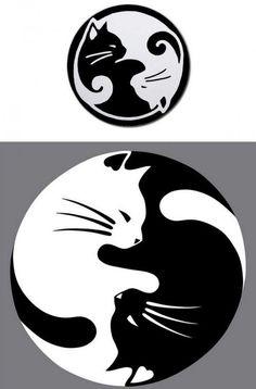 Ying Yang Katzen Tattoo Vorlage                                                                                                                                                                                 Mehr