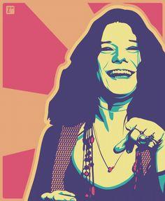 Janis Joplin the Queen of Rock and Roll