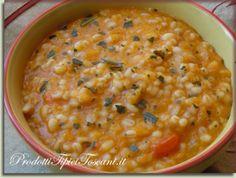 Zuppa di orzo e zucca | Ricetta Zuppa di orzo