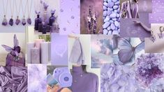 purple aesthetic background