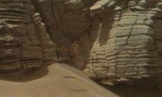 Estranha formação em Marte levanta debate entre internautas - OVNI Hoje! : OVNI Hoje!