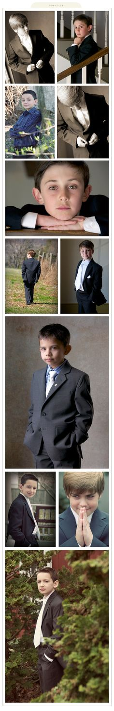 Boys' Communion Photos