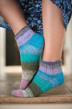 Ravelry: Solstice socks pattern by Rhian Drinkwater