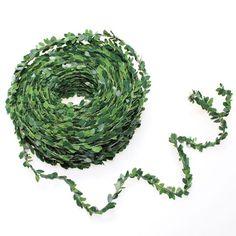 Myrte Girlande Kordel Buchsbaumgirlande Buxgirlande Buchsbaum 30m künstlich Floristik & Basteln Florales künstlich Grün, Girlanden & Beeren