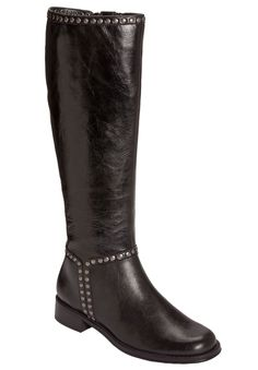 in black... Iridescence Boot by A2 Aerosoles | Plus Size Tall Boots | Woman Within