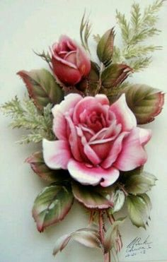 Tattoo Rose Vintage Frames Ideas For 2019 Vintage Rosen, Vintage Diy, Vintage Cards, Vintage Images, Art Floral, Vintage Flowers, Vintage Floral, Beautiful Roses, Beautiful Flowers