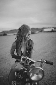 She dreams of mermaids. And motorcycles. And meeting a man who can dance. :)