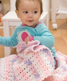 Sweet Dreams Baby Blanket Crochet Pattern | Red Heart