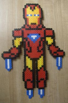 Iron Man - hama perler beads