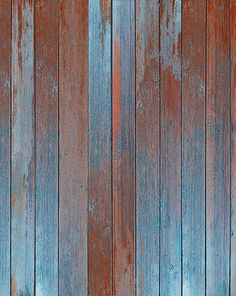 Orange and Teal Planks Backdrop from Backdrop Express - Price Starting at: $74.95