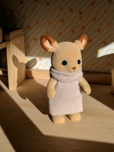 sweater dress for calico critters - sylvanian families