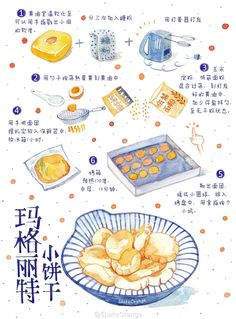 recipe illustrations cute!