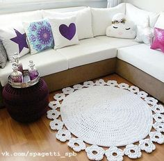 Crochet Carpet + Diagrams