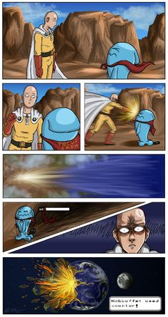 when an unstoppable force meets and immovable object Really Funny Memes, Stupid Funny Memes, Funny Relatable Memes, Hilarious, One Punch Man Funny, One Punch Man Anime, Anime Meme, Otaku Anime, Pokemon Pictures