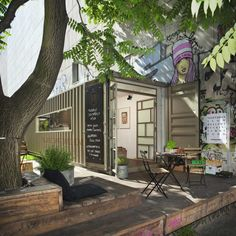 6 Amazing Things Ways Berlin Is Recycling Old Shipping Containers | FWx