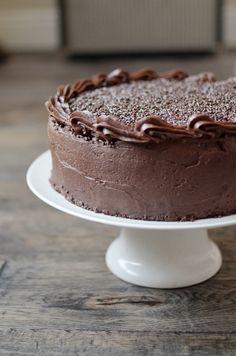 I Still Love You by Melissa Esplin: Food: Chocolate Brigadeiro Cake