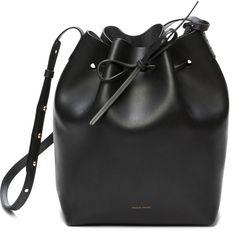 MANSUR GAVRIEL Bucket Bag Raw X Black