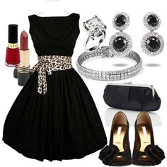 Little Black Dress, created by jnifr.polyvore.com