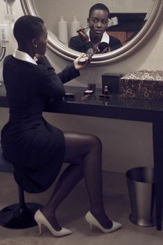 Lupita Nyong'o's photos and outtakes from OscarWrap Magazine