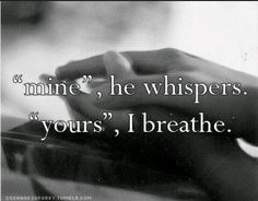 I am his, and he is mine!