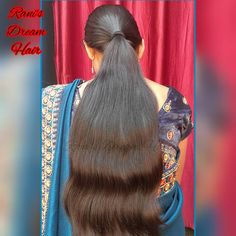 Alia Bhatt Hairstyles, Indian Hairstyles, Long Hair Ponytail, Ponytail Hairstyles, Cute Beauty, Dream Hair, Sari, Long Hair Styles, Instagram