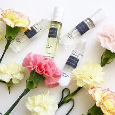 What's your flava?  Daniela Cosmetics perfume oils have 6 different and all equally enticing scents to choose from!