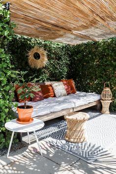Outdoor Garden Furniture, Outdoor Rooms, Outdoor Gardens, Outdoor Living, Outdoor Decor, Outside Living, Dream Home Design, Balcony Garden, Outdoor Seating