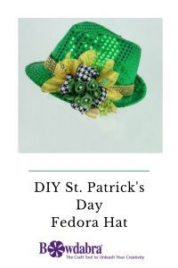 St. Patrick's Day fedora is a fun fashion statement. With this fun video tutorial you will get a fun idea #abrabowdabra #bowdabra #howto