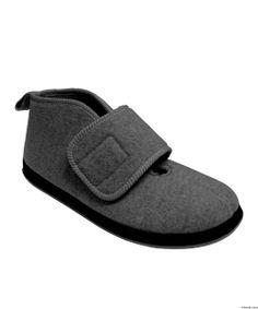 Women's Wide Width Boot Slipper With VELCRO® Brand Fasteners Item #10110 US $49.98