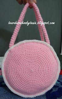 atrás cartera rosa