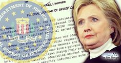 As hysteria spreads across the US about the non-existent Russian threat, the FBI quietly released secret documents pertaining to the Clinton investigation.