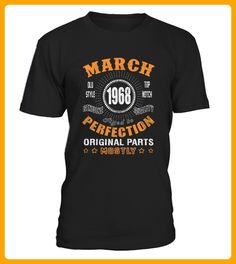 1968 March Aged to Perfection - Geburtstag shirts (*Partner-Link)