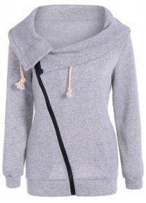 2fe880ba9454 Интернет магазин мода женская верхняя одежда трикотажная рубашка вещь кофта  с капюшоном длинным рукавом спорт балахон