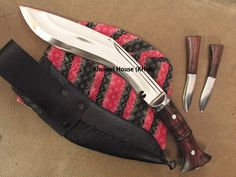 Kukri Machete, Knives And Swords, Barrels, Knifes, World War Two, Nepal, Weapons, Blade, Two By Two