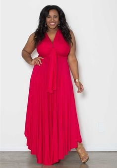 Sealed With A Kiss Eternity Maxi Convertible Dress - Green Curvy Girl Fashion, Look Fashion, Plus Size Fashion, Plus Size Maxi Dresses, Plus Size Outfits, Nice Dresses, Wrap Dresses, Vestido Convertible, Plus Zise