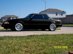 Trying to make a decision on wheels for your Foxbody Mustang? Well you've come to the right place, I have collected pictures and photos of Foxbody Mustangs Fox Body Mustang, American Auto, Ford Lincoln Mercury, Mustang Cars, Sexy Cars, Car Manufacturers, Picture Photo, Cars Motorcycles, Muscle Cars
