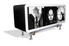 Metropolis_Sideboard_Design and  Produced by Andrea Scarpellini