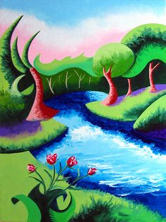 abstract river - Google Search