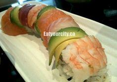 Sumo Sumo Sherwood Park, AB - improved since last visit for sushi, lots of sashimi! Rainbow Roll, Sherwood Park, Tasty, Yummy Food, Sashimi, Rolls, Abs, Restaurant, Ethnic Recipes