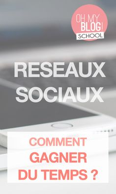 Marre de passer des heures et des heures sur les réseaux sociaux ? Si on optimisait notre temps ?  On vous donne toutes nos astuces sur www.blogschool.fr