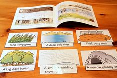 Story sequencing for use with We're Going on a Bear Hunt