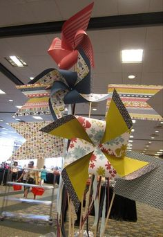 giant #pinwheels may be fun as outdoor decor for the lawn games