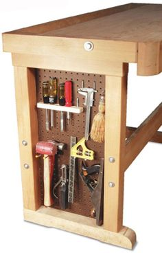 Pegboard Bench End