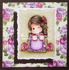 Coloring Magnolia Stamp 2014 Lost And Found Collection - Write a Message Tilda Copics: Hair: E49-E47-E44-E43-E42 Skin: E13-E11-E00-E000-R20 Clothes: R39-R37-R83-R81 Pillow: Y28-Y26-YR24-Y38-Y35 Background: YG99-YG97-YG95-YG93-YG91