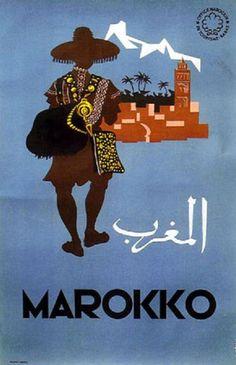 vieilles affiches marocaines - Google zoeken