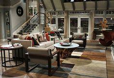 Découvrez plans des appartements de séries TV Friends, Big Bang Theory, How I met your mother, Seinfeld, Dexter, Will & Grace, Sex and the city etc..