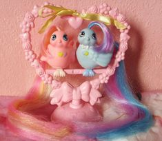 Hasbro Fairy Tails Love Bird Set - the five year old me gets giddy at the mere though! :) #vintage #retro #toys #nostalgia #1980s #pink