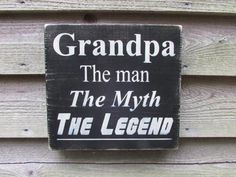 this hand painted, wood sign , is great for your home décor. makes a great grandfather sign, grandfather gift. family rules, primitive signs, funny signThis sig